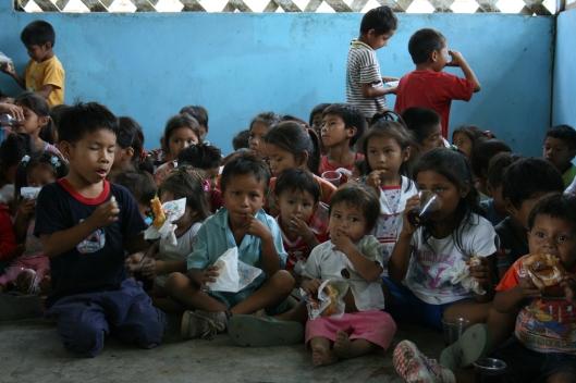 Kids in bible program