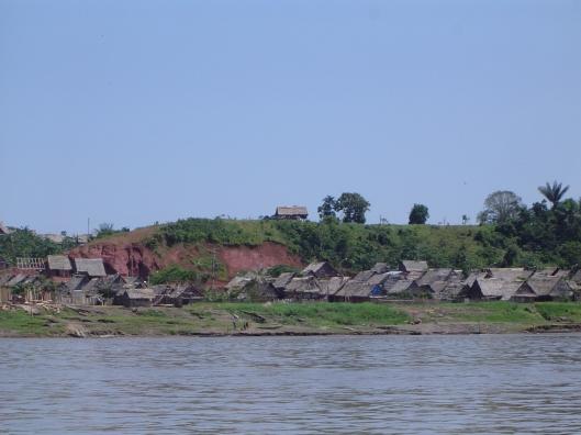 Amazon huts
