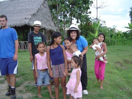 Amazon pueblo withkids