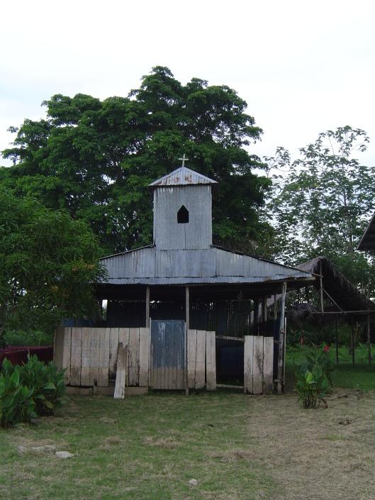Amazon pueblo church 2