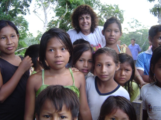 Buenos Aires pueblo kids and steph
