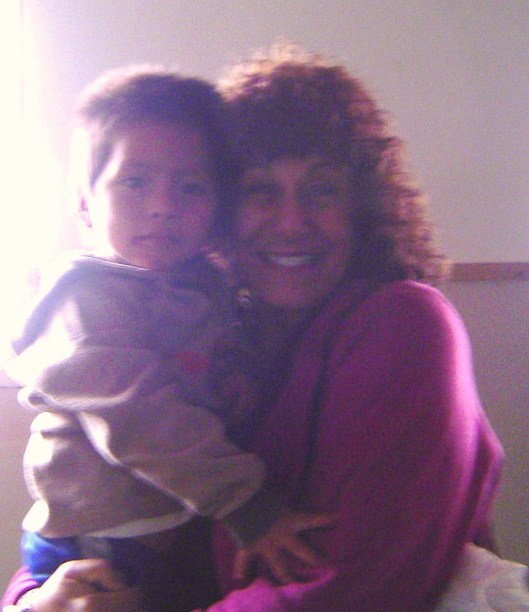 Orphan boy and steph