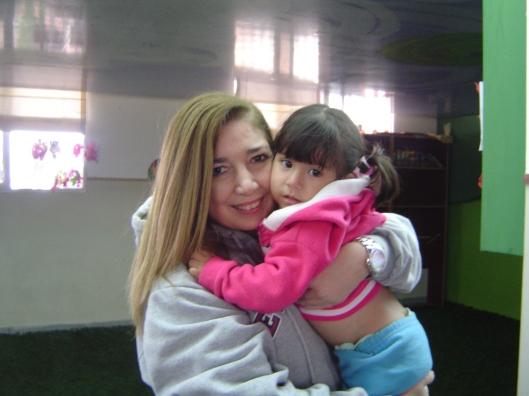 Orphan girl and mili