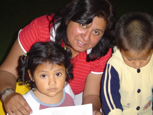 Orphanage - yanett and kids coloring