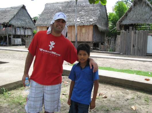 Sean and soccer boy in santa fe