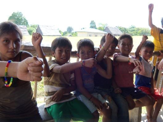 Kids with Bracelets