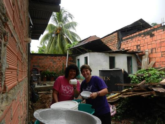 Washing dishes 2