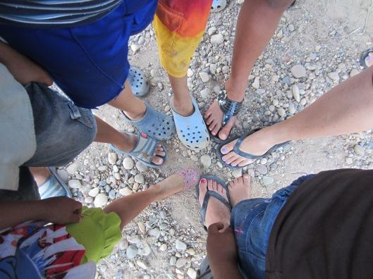 Lz anniv feet