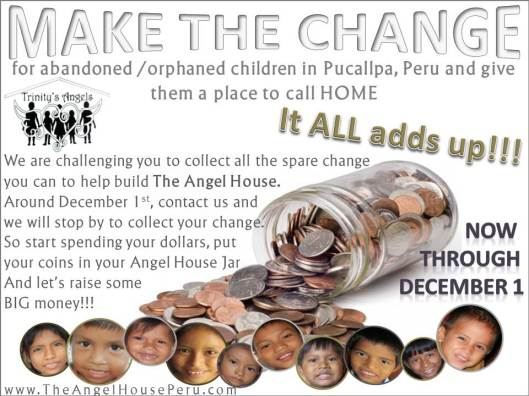 Make The Change Flyer with border