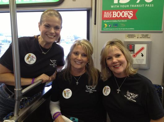 Christi jamie and beth on dart rail